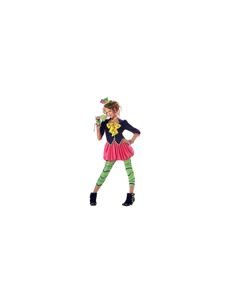 The Mad Hatter Costume | Wholesale Alice in Wonderland Costumes for Girls