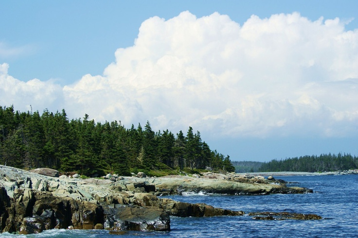 Perfect day for a hike,Taylor's Head, Nova Scotia.