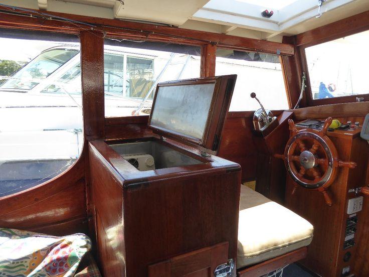 Halvorsen 26 Cruiser: Power Boats | Boats Online for Sale | Timber Oregon Planked Over Steam Bent Hardwood Frames | Queensland (Qld) - Manly (brisbane) Qld | Boats Online