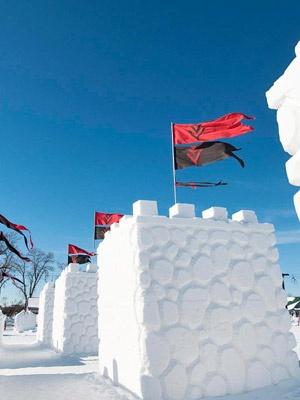 Saint Paul Winter Carnival -- love the ice sculptures!
