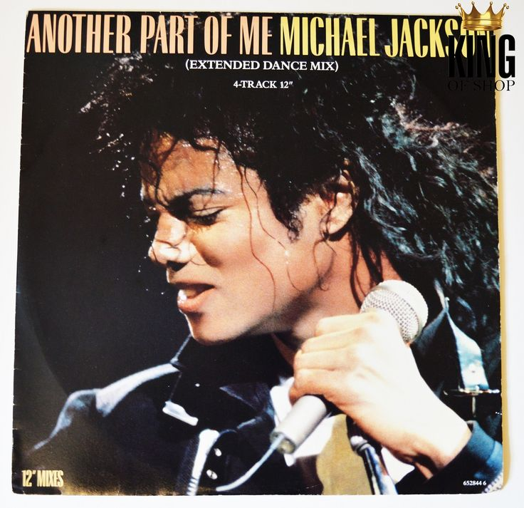 """Item of the day: Another Part of Me UK 12""""  http://www.king-of-shop.com/product/another-part-of-me-uk-12/"""