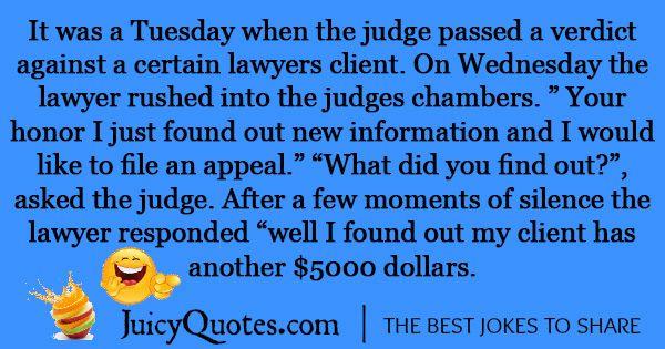 Funny Lawyer Joke -27