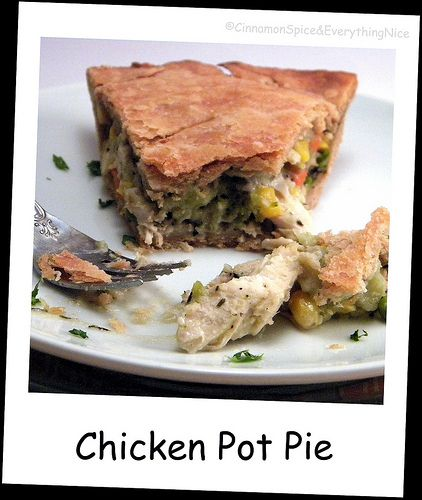 Deep Dish Chicken Pot Pie by ~CinnamonGirl on Flickr