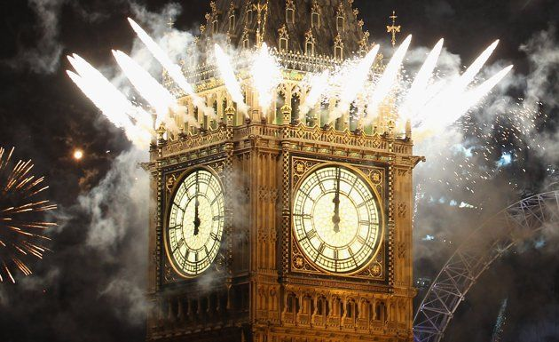 New Year's in London! Pip, pip!