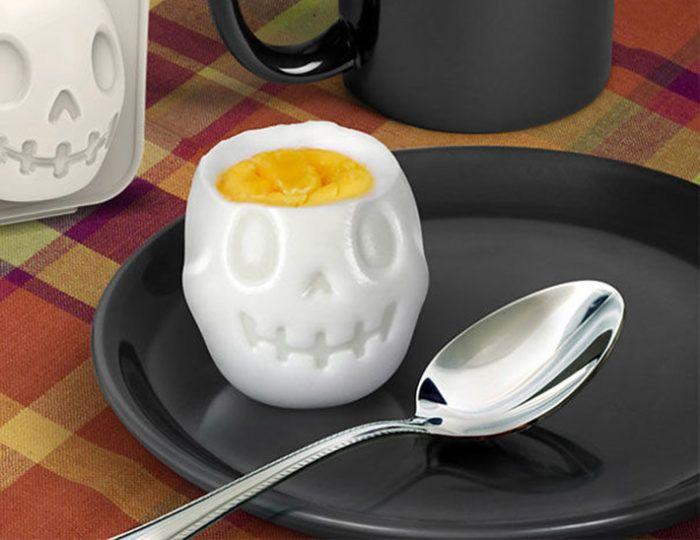 Skull-Shaped Boiled Egg Mold