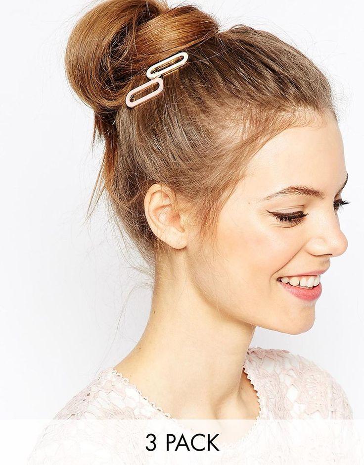 ASOS+Smooth+Rectangle+Hair+Clips