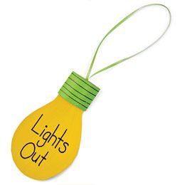 """Great Lesson: John 8:12  When Jesus spoke again to the people, he said, """"I am the light of the world. Whoever follows me will never walk in darkness, but will have the light of life."""" (Where it Reads Lights Out, Write John 8:12 or Jesus is the Light of the World!)"""