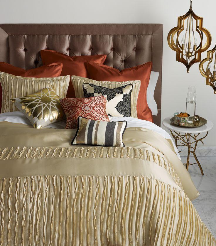 Layla Vanilla Duvet Set   Blissliving Home Abu Dhabi Collection
