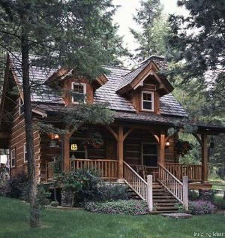 119 Small Log Cabin Homes Ideas #log.cabin