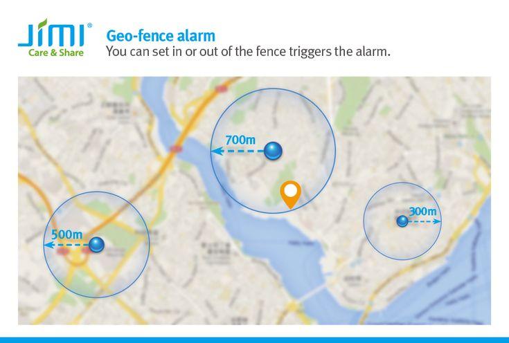 Geo-fence alarm