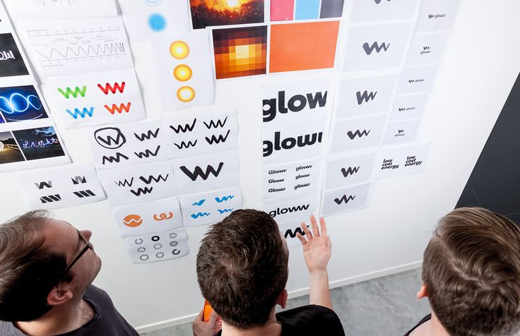 Gloww - Embleem   by Skinn Branding Agency