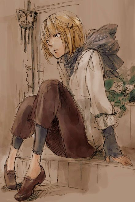 Tags: Death Note, Mello. art by Ai Love Love