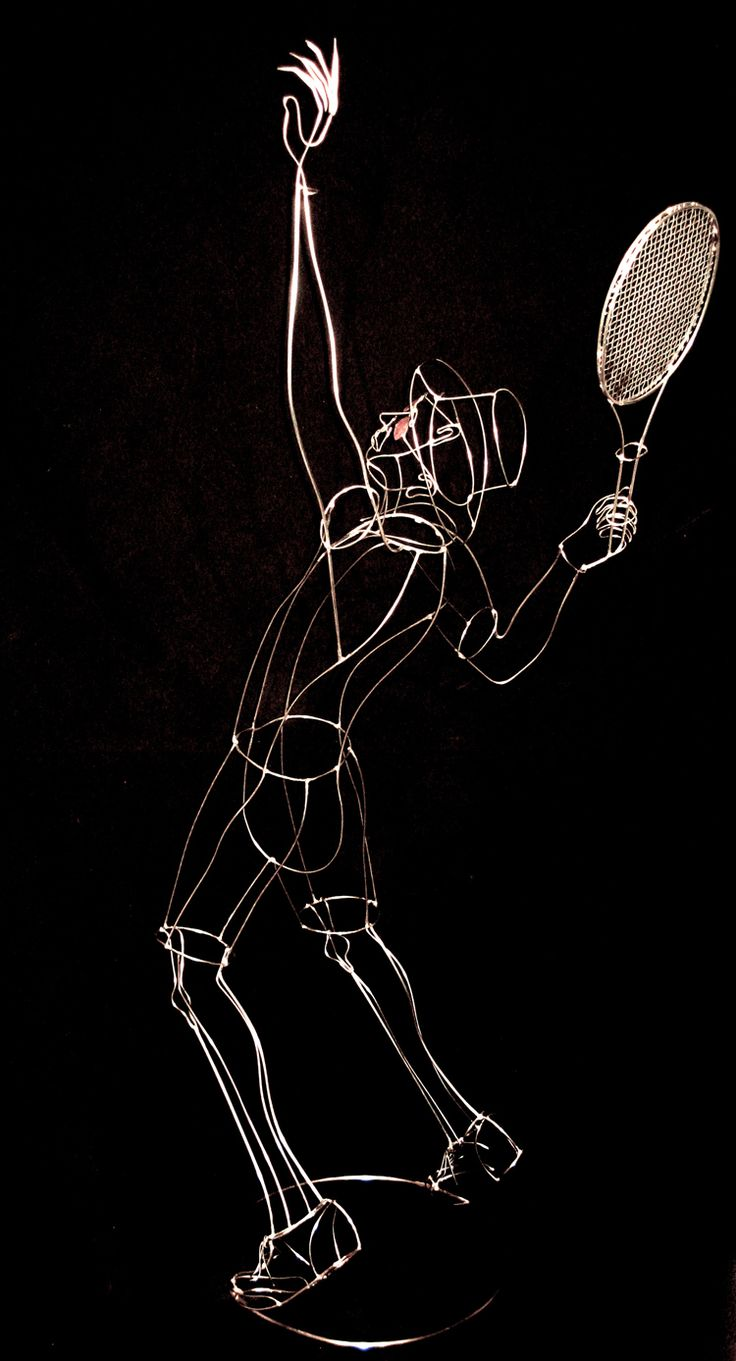 Tennis player by Rudy Kehkla, another view.