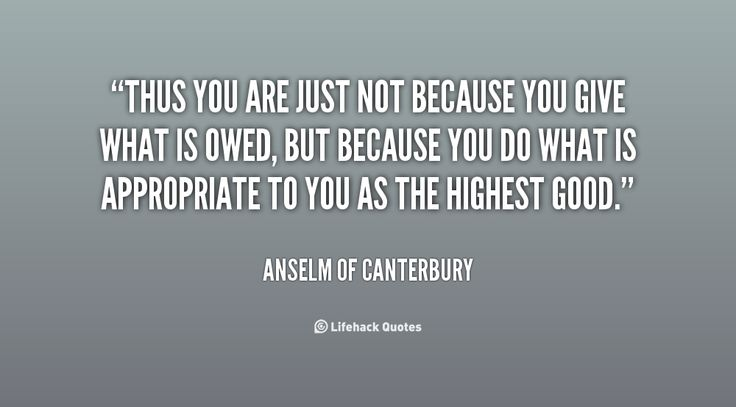 Anselm of Canterbury Quotes | quote Anselm of Canterbury thus you are just not because you 10057 png