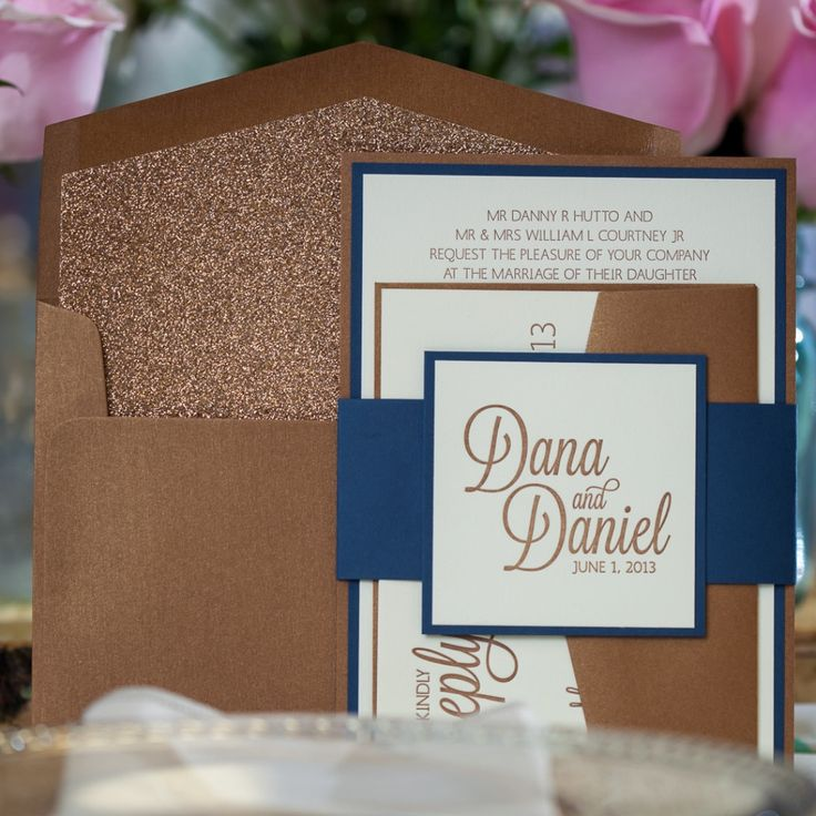 diy rustic wedding invitations burlap%0A CAITLIN Suite Fancy Glitter Package  gold and navy  bronze and navy  rustic  wedding