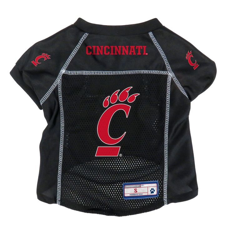 Cincinnati bearcats pet jersey size s backorder