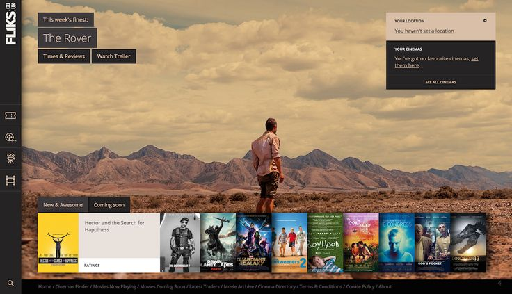Website for movie reviews