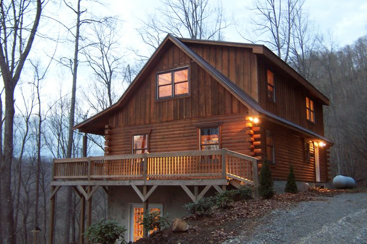 Daughter's cabin in North Carolina.  Beautiful place  to vacation.  05/2013. Contact Watershed cabins in Bryson City NC
