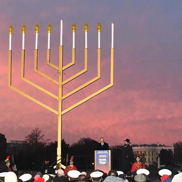National Menorah Lighting with the WH Chief of Staff by dleilanib #WhiteHouse #USA