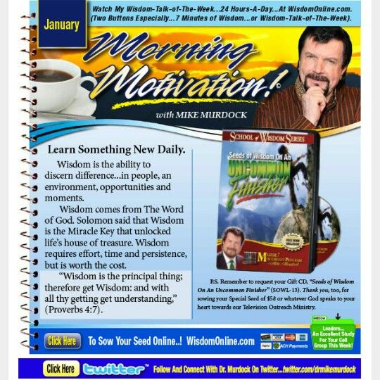 Mike Murdock Quotes: Learn Something New Daily.