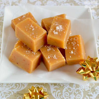 Ooh, Look...: Salted Caramel Fudge - or, Sugar Sugar