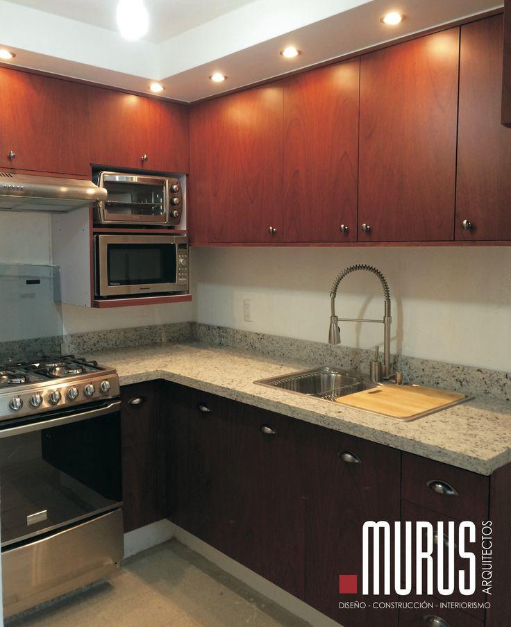 www.facebook.com/murus.mx #Kitchen#interiorismo