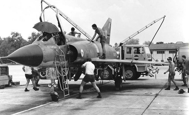 RAAF Mirage at Butterworth