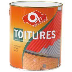 Oxi STOIC2.5AR Peinture spécial toiture 2,5 L Ardoise: Bonne tenue Qualité professionnelle Excellent rapport qualité/prix L'article Oxi…