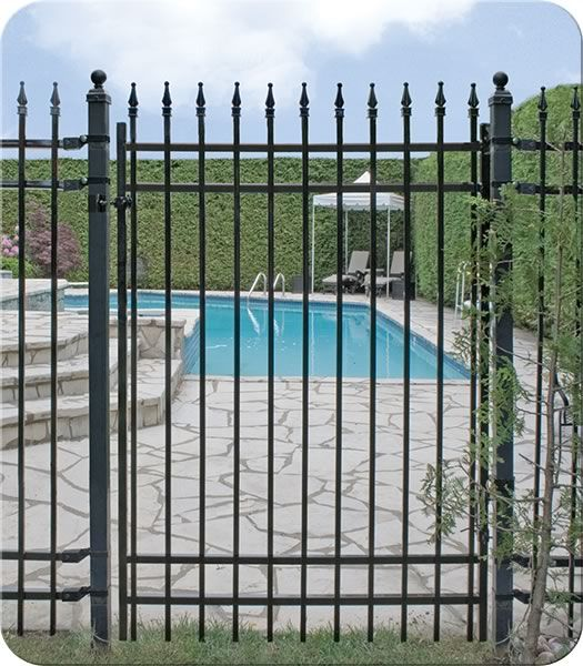 Roosevelt Iron Walk Gate  Fence-All