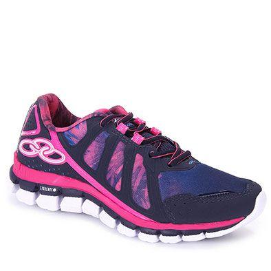 Tênis Training Feminino Olympikus Diffuse Colors W - Marinho