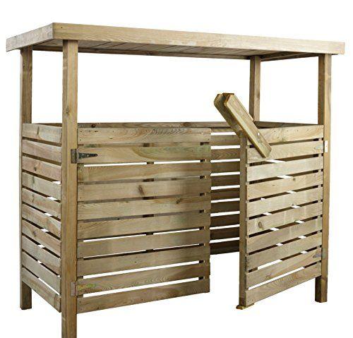 die besten 17 ideen zu m lltonnenbox auf pinterest m lltonnenh uschen m llboxen und m lltonne. Black Bedroom Furniture Sets. Home Design Ideas