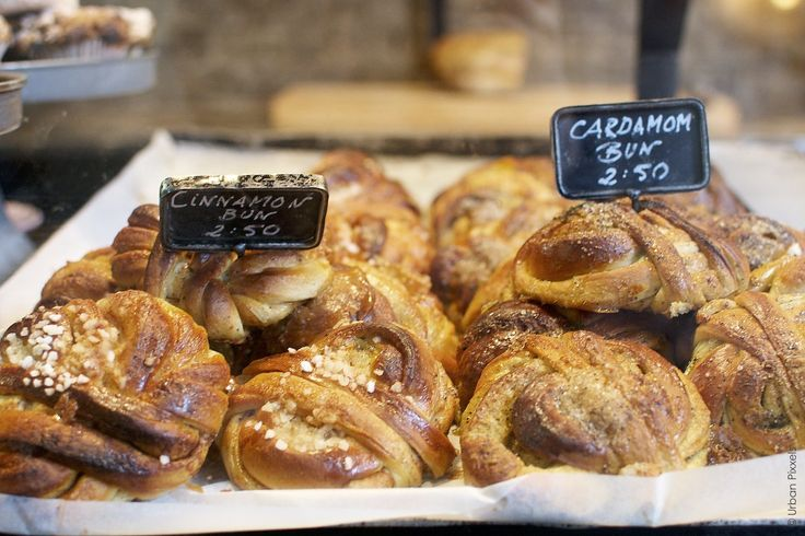 Cinnamon and Cardamon Buns at Fabrique bakery, London