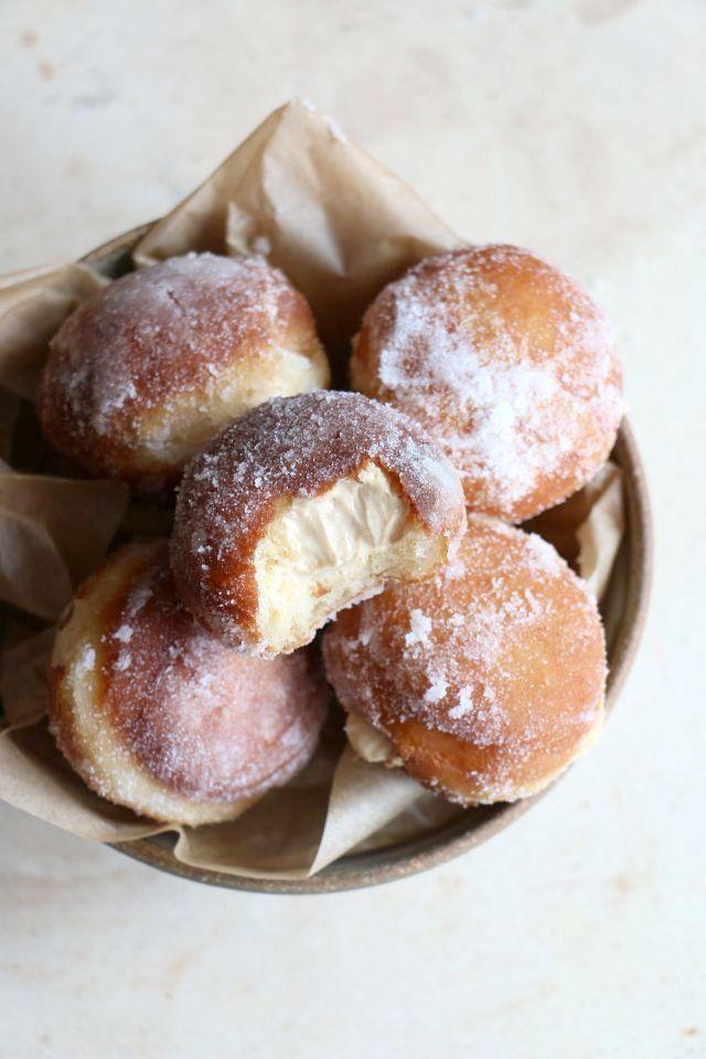 Salted Caramel Brioche Donuts