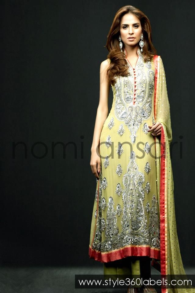 .. Nomi Ansari Designer at Style360 LABELS e-Store - Latest Party Wedding Bridal Dresses 2013 0005 ..