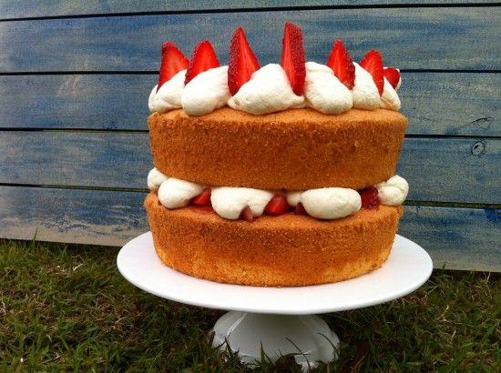 Perfect Sponge Cake Recipe: Light Fluffy Moist and Tall | HowToCookThat : Cakes, Dessert & ChocolateHowToCookThat : Cakes, Dessert & Chocolate