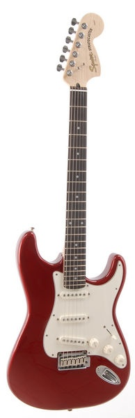 1970's Fender Squier Stratocaster Red