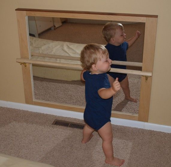 pull up bar and mirror 9mo