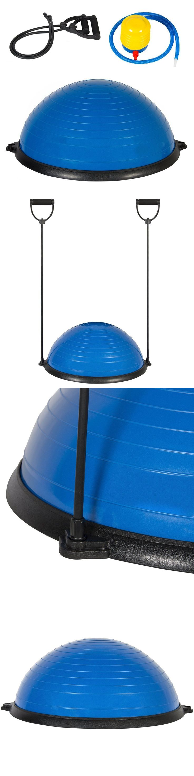 Balance Trainers 179803: Bosu Balance Ball Trainer Strength Training Fitness Yoga Endurance Workout New BUY IT NOW ONLY: $66.49