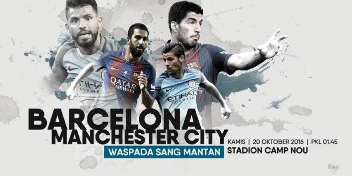 Prediksi Barcelona vs Manchester City Liga Champions