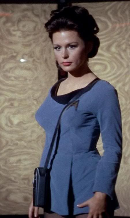 """Marianna Hill (born 9 February 1941) is an actress who portrayed Doctor Helen Noel in the Star Trek: The Original Series episode """"Dagger of the Mind"""" in 1966."""