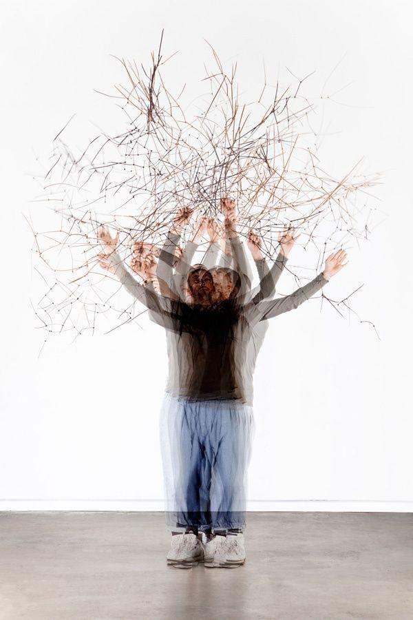 Temporary Trees' Pollard Willow  Light box - Oak wood, acrylic, lambda-trans  128,5 x 87 x 20 cm (h x w x d)