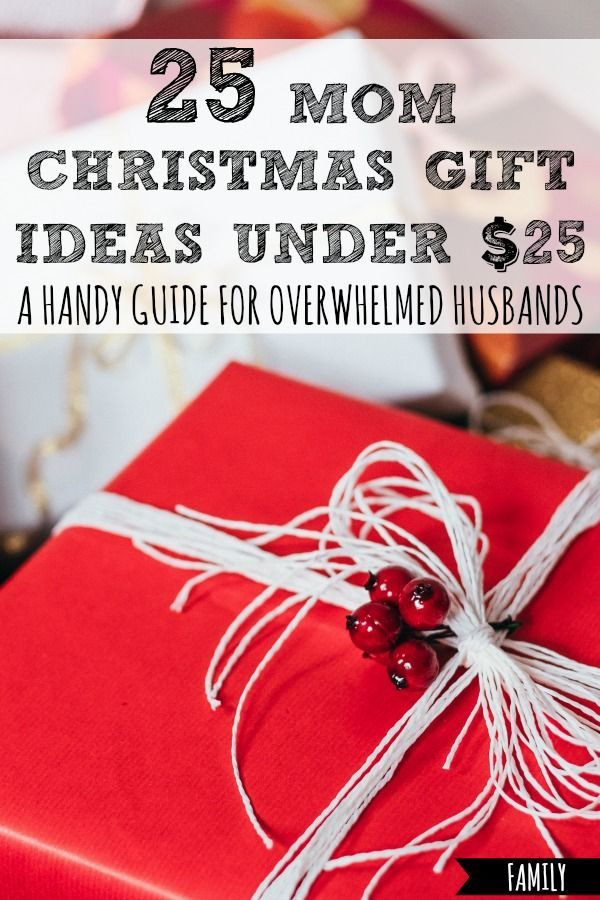 25 Mom Christmas Gift Ideas Under