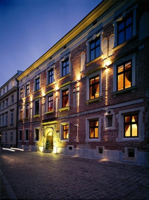 Fasada hotelu Copernicus.