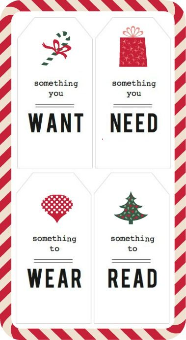 Teaching Children Charity During the Holidays by utah-todaysmama: Give kids these tags to temper their expectations. #Parenting #Christmas
