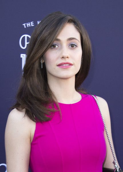 Emmy Rossum Mid-Length Bob - Emmy Rossum kept it classic with this mid-length bob at the Hollywood Reporter's 2017 Women in Entertainment Breakfast.