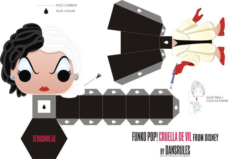 Funko Pop! Cruella De Vil Disney by Dansrules by dansrules.deviantart.com on @deviantART