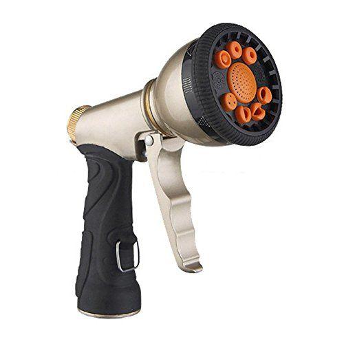 garden hose spray nozzle. SRANDER Garden Hose Spray Gun Nozzle High Pressure CopperHttp://