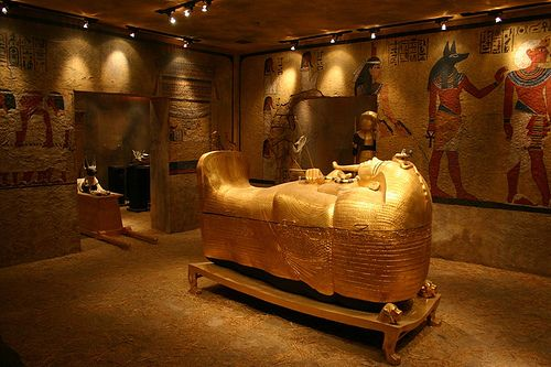 King Tut's tomb was discovered in 1922 by Howard Carter and his sponsor, Lord Carnarvon, in the Valley of the Kings.