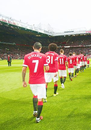 Welcome to Old Trafford - October 2014