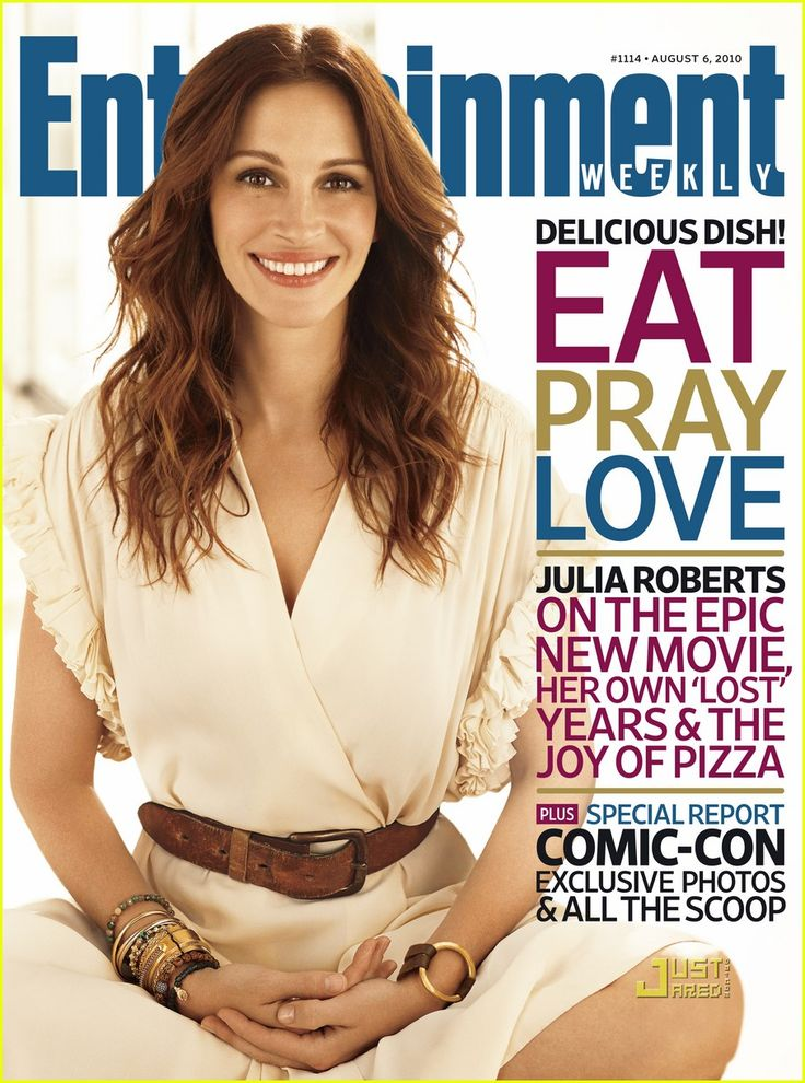 Julia Roberts: 'Eat, Pray, Love' on EW Cover!
